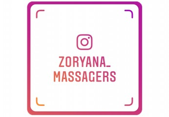 Масажери Zoryana в Instagram та Facebook