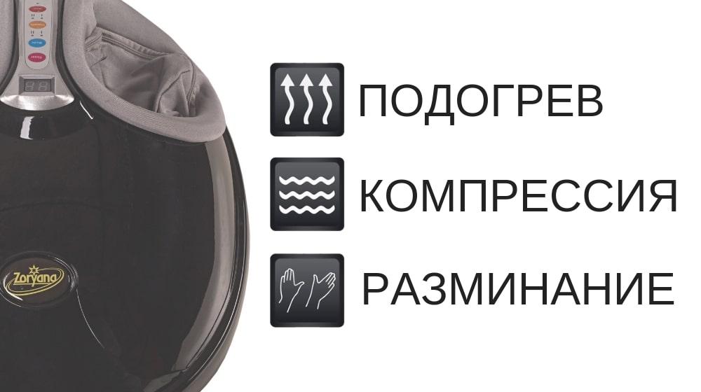 Массажер для ног Zoryana Тарелка